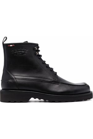 Bally Men Lace-up Boots - Nokor leather lace-up boots
