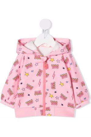 Billieblush Hoodies - Cool-print fleece hoodie