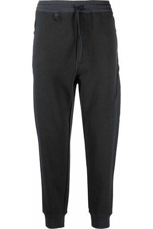 Y-3 Terry slim-fit track pants - Grey