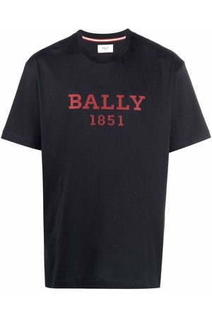 Bally Men Short Sleeve - Logo-print short-sleeved T-shirt