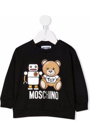 Moschino Hoodies - Teddy bear print sweatshirt