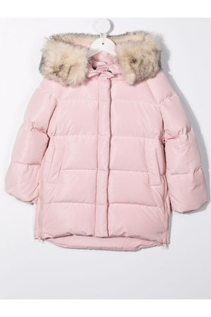 MONNALISA Girls Puffer Jackets - Down-filled quilted coat
