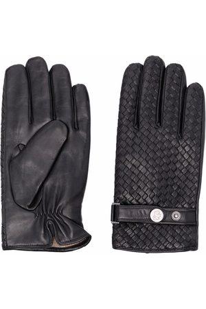 Karl Lagerfeld Men Gloves - Woven leather gloves