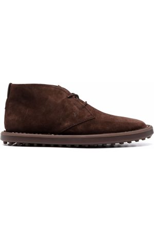 Tod's Men Ankle Boots - Lace-up suede ankle boots
