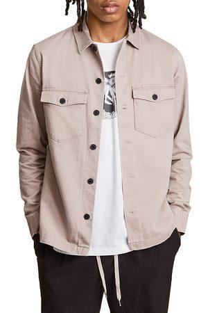 AllSaints Firebase Slim Fit Button Front Shirt