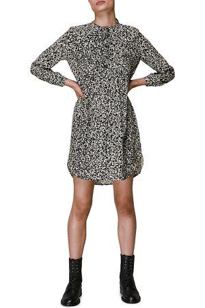 Whistles Abstract Print Mini Dress