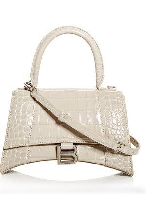 Balenciaga Hourglass Small Leather Top Handle Bag