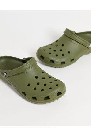 Crocs Classic shoes in khaki