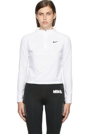 Nike Women Sports Tops - White Court Dri-FIT Victory Sport Top