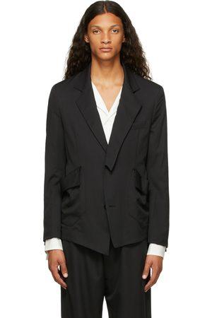 Sulvam Men Blazers - Wool Gabardine Short Blazer