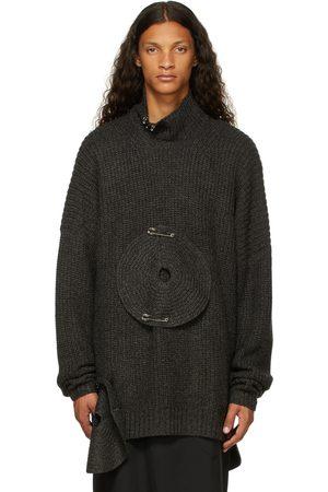 Sulvam Men Turtlenecks - Over Circle Knit Turtleneck