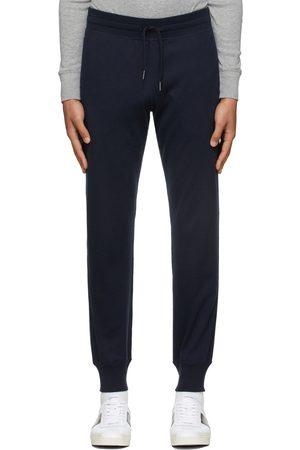 Tom Ford Men Sweats - Navy Knit Regular-Fit Lounge Pants
