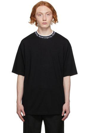 Acne Studios Men T-shirts - Logo Binding T-Shirt