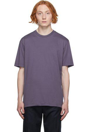 Acne Studios Men High Necks - Purple High Neck T-Shirt