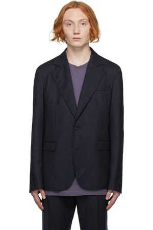 Acne Studios Men Blazers - Wool Pinstripe Blazer