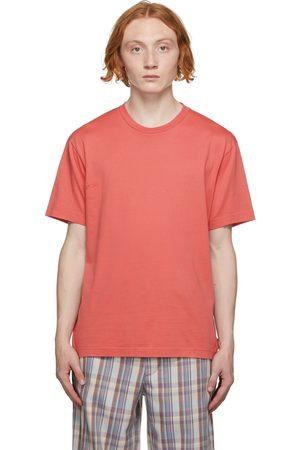 Acne Studios Men High Necks - Pink High Neck T-Shirt