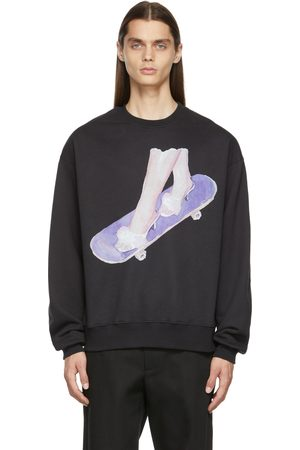 Nahmias Girls Sweatshirts - Fleece Skater Girl Sweatshirt