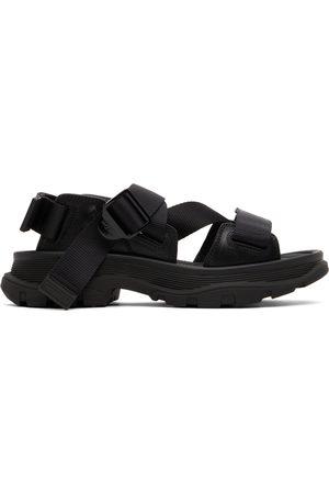 Alexander McQueen Men Sandals - Black Tread Sandals
