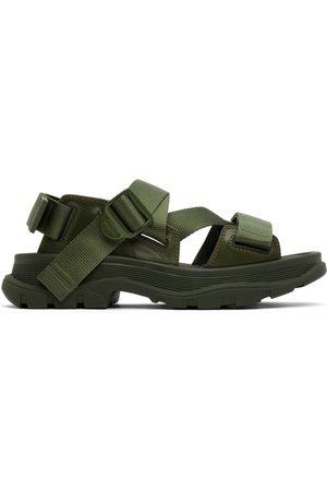 Alexander McQueen Men Sandals - Khaki Tread Sandals