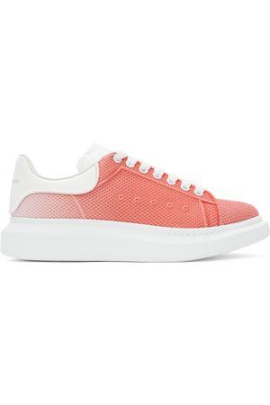 Alexander McQueen Men Sneakers - Pink & White Degradé Oversized Sneakers