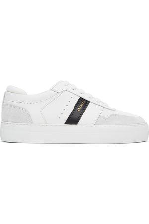 Axel Arigato Men Platform Sneakers - White & Black Detailed Platform Sneakers