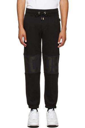 GCDS Black Band Logo Lounge Pants