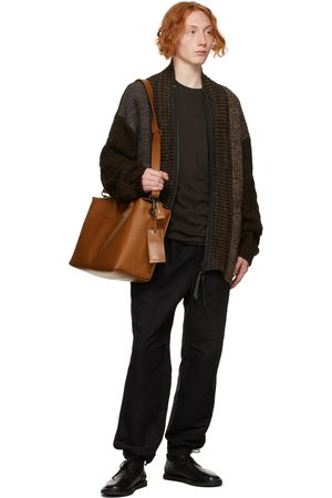 MARSÈLL Men Luggage - Tan Borsona Duffle Bag