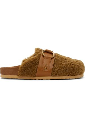 See by Chloé Women Loafers - Tan Sherpa Gema Loafers