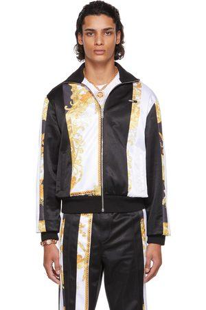 VERSACE Men Jackets - Black Jersey Medusa Renaissance Jacket