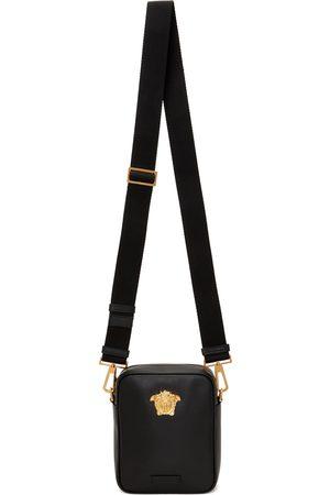 VERSACE Men Luggage - Black Mini 'La Medusa' Bag