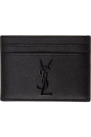 Saint Laurent Men Wallets - Black Monogramme Card Holder