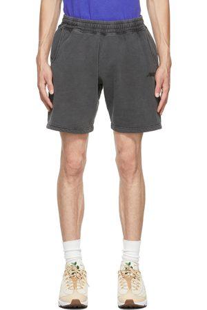 AWAKE NY Men Shorts - Black Logo Shorts
