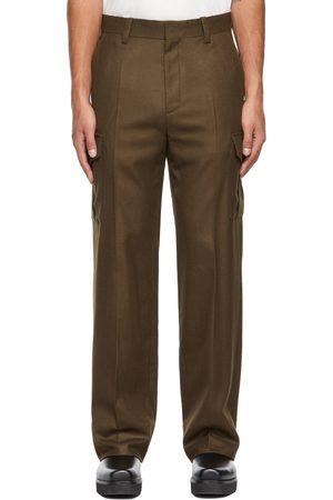 SYSTEM Men Cargo Pants - Wool Cargo Pants