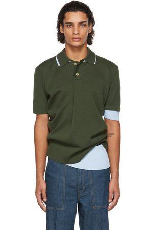 Jacquemus Men Polo Shirts - & Blue La Montagne 'Le Double Polo' Polo
