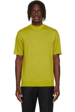 Loro Piana Men Sweatshirts - Yellow Avon Crewneck T-Shirt
