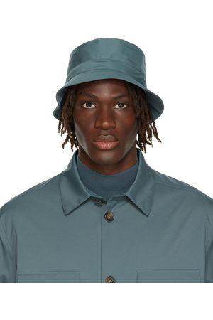 Loro Piana Men Hats - Blue Cityleisure Bucket Hat