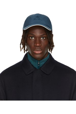 Loro Piana Men Caps - Blue Baseball Cap