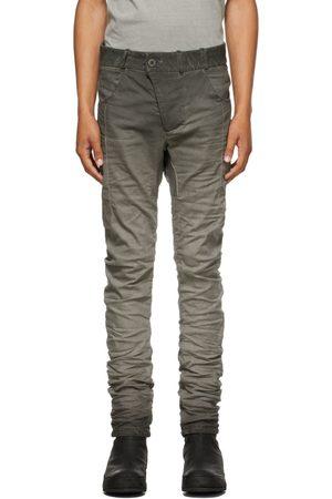 11 BY BORIS BIDJAN SABERI Men Jeans - Grey Resin-Dyed P13 Jeans