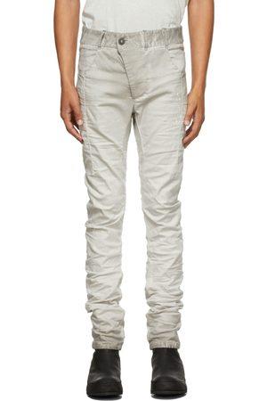 11 BY BORIS BIDJAN SABERI Men Jeans - Grey Painted P13 Jeans