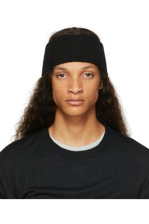 11 BY BORIS BIDJAN SABERI Men Headbands - Cashmere Rib Knit Headband