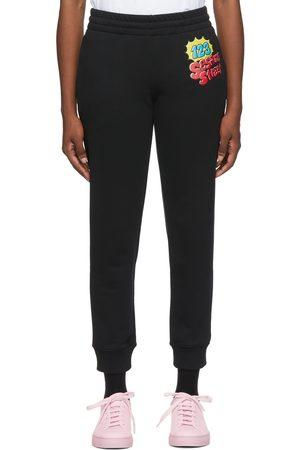 Moschino Women Sweats - Black Sesame Street Edition Jogging Lounge Pants