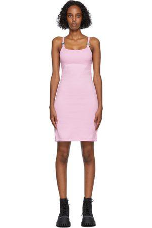 1017 ALYX 9SM Women Knitted Dresses - Pink Knit Disco Dress