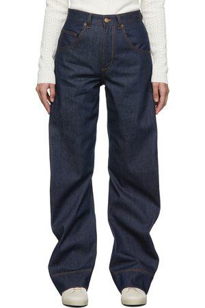Victoria Beckham Women Jeans - Navy Mick Jeans