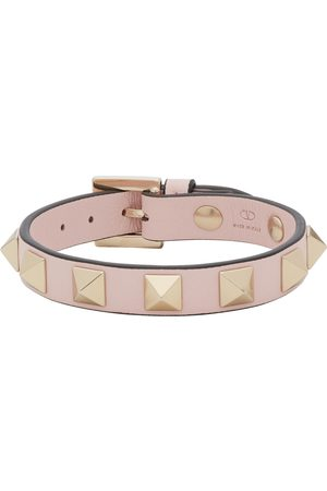 VALENTINO GARAVANI Women Bracelets - Pink Rockstud Bracelet