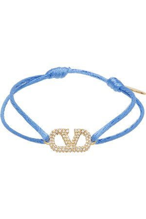 VALENTINO GARAVANI Women Bracelets - Blue VLogo Bracelet