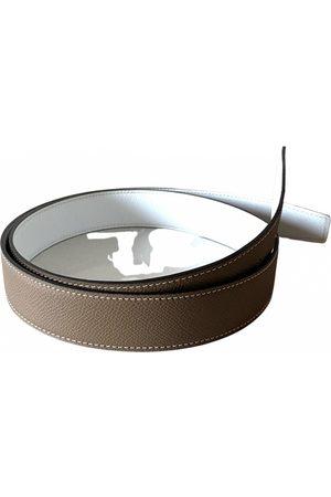 Hermès Cuir seul / Leather Strap leather belt