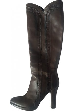 Bottega Veneta Women Cowboy Boots - Leather cowboy boots