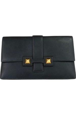 Hermès Médor leather clutch bag