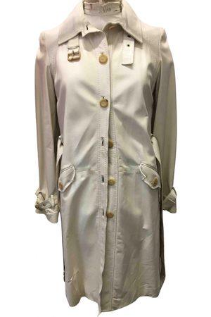 Céline Leather trench coat