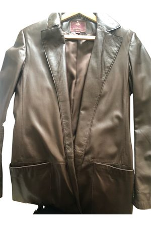 MULBERRY Leather trench coat